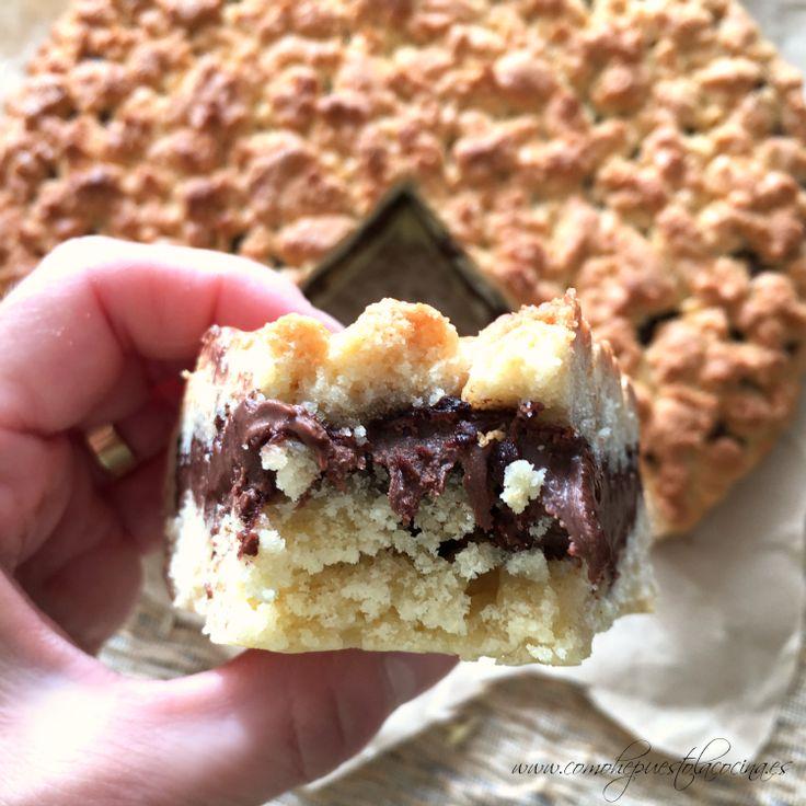 Tarta rústica de Nutella, receta con Thermomix
