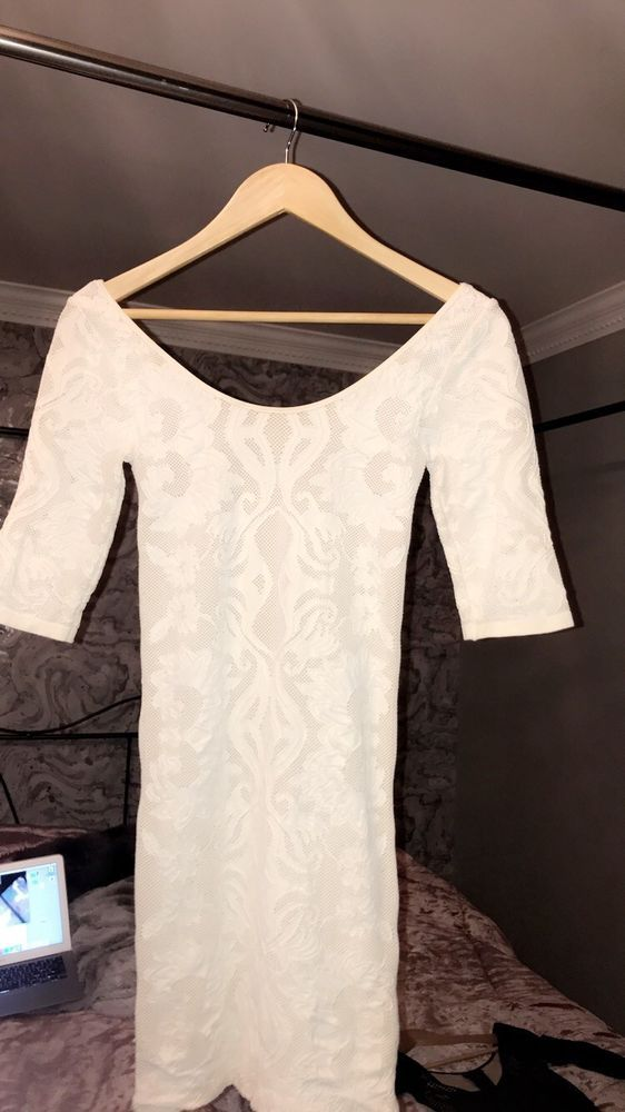 c67e7bc0f3 bebe white dress size small womens #fashion #clothing #shoes #accessories  #womensclothing #dresses (ebay link)