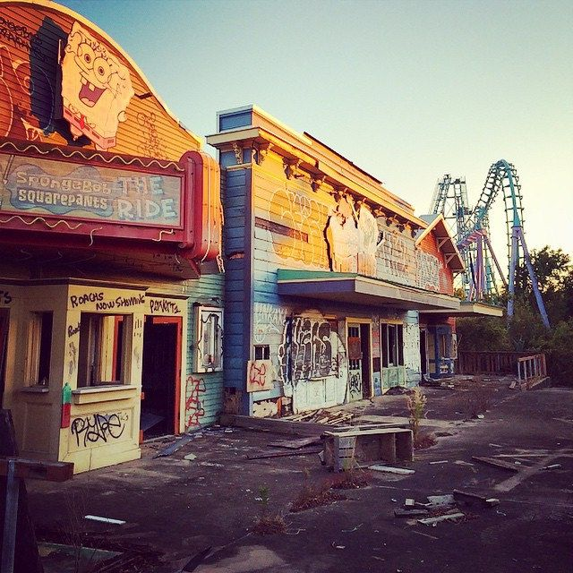 Abandoned Six Flags New Orleans #louisiana #neworleans
