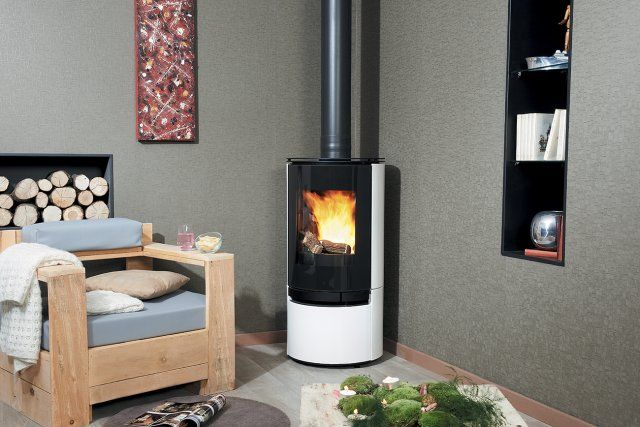 65 best po les bois wood stoves images on pinterest. Black Bedroom Furniture Sets. Home Design Ideas