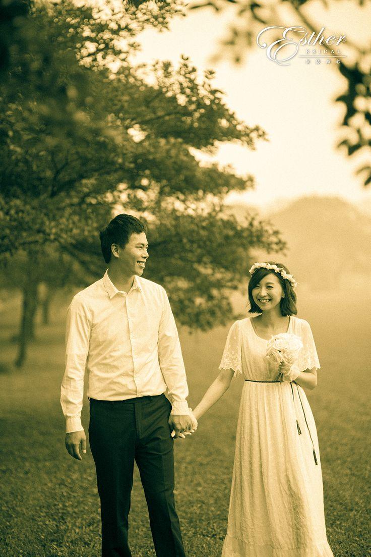 Pre-wedding photo.
