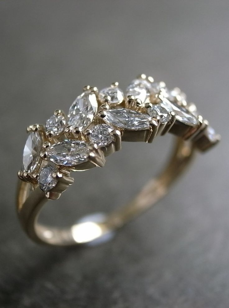 Marquise Wedding Ring / Engagement Ring