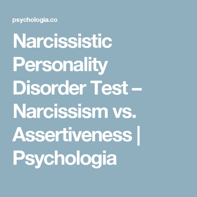 Narcissistic Personality Disorder Test – Narcissism vs. Assertiveness | Psychologia