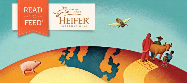 Teachers & Educators: Register to go online to learn how to implement Heifer's #ReadtoFeed program in your schools