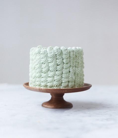Light Maple Cake Pedestal from Herriott Grace.
