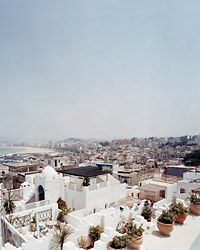 Adam Broomberg and Oliver Chanarin The view from Dar Sultan's roof, in Tangier.