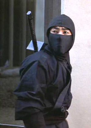 Ninja.   As a kid, this is all I ever wanted to be.