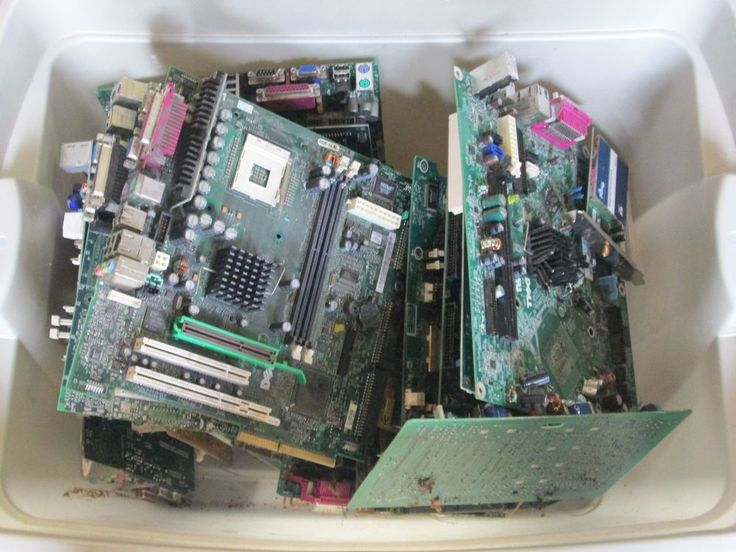 25 LBS COMPUTER SCRAP GOLD / SILVER RECOVERY MOTHERBOARDS CARDS