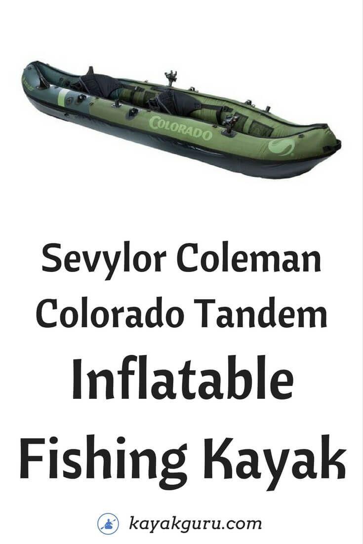 Sevylor Coleman Colorado 2 Person Fishing Kayak 2 Person Fishing