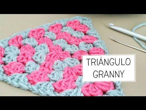 Guirnalda de Banderines (triángulos) a CROCHET PASO A PASO - YouTube