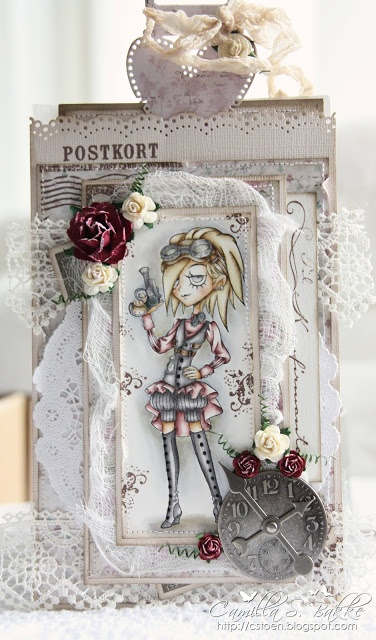 Cards by Camilla: Stamp is so cute