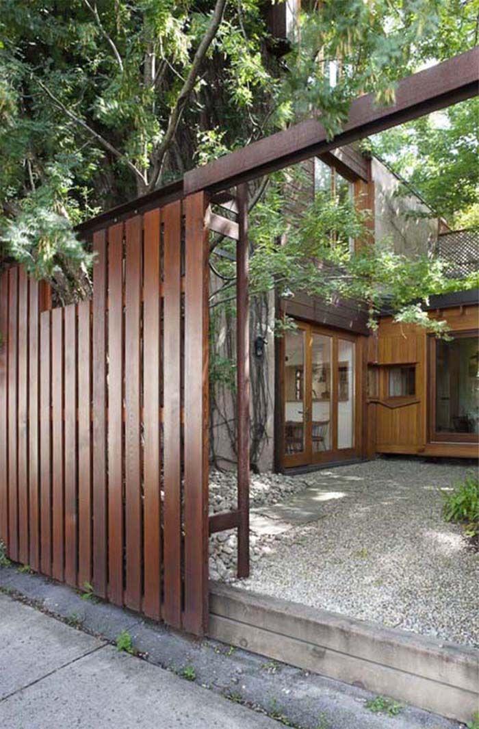 17 Best Images About Modern Fences Amp Gates On Pinterest