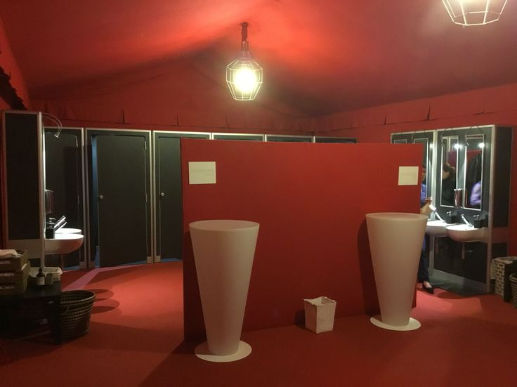 Fashion Toilet Srl Florence -Italy  Set up for Events