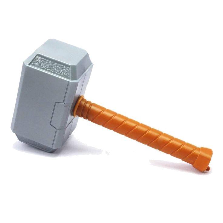 29 cm avengers thor Hammer Mainan Thor Hammer Cosplay 2016 Baru 2 captain america aksi angka Hadiah Cosplay senjata pasokan partai