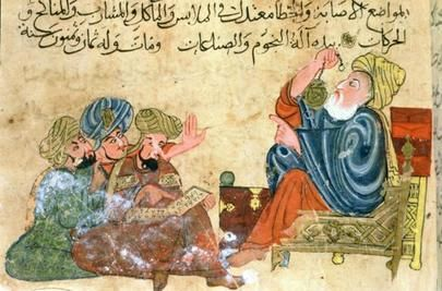 The House of Wisdom was the centre of learning in the ninth-century. The caliph brought scholars to the House of Wisdom from all over the Islamic world.