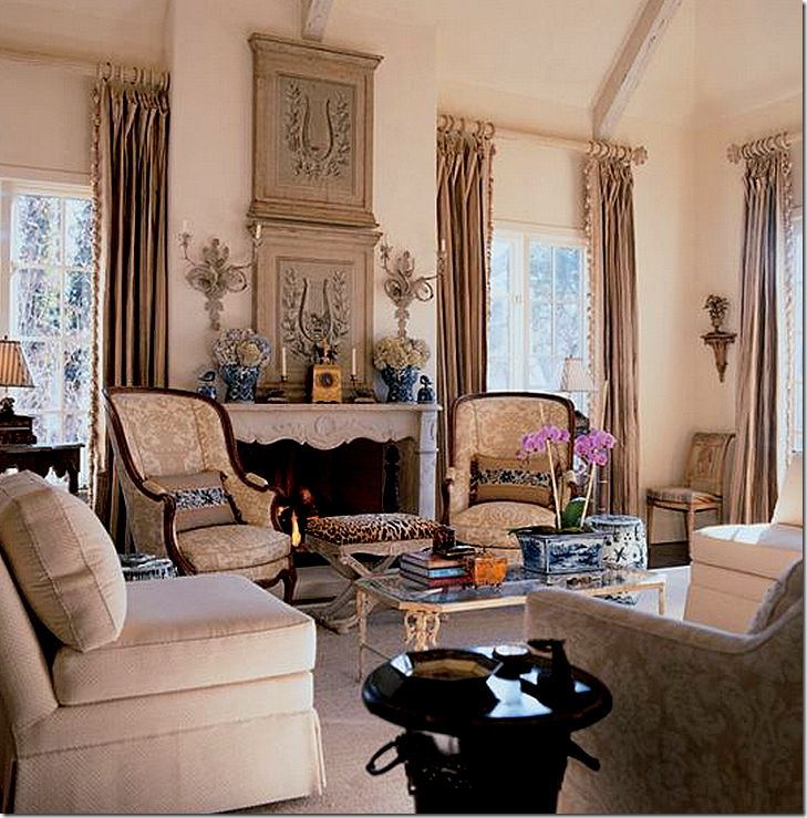 In Memoriam. French Country Living RoomCountry ...