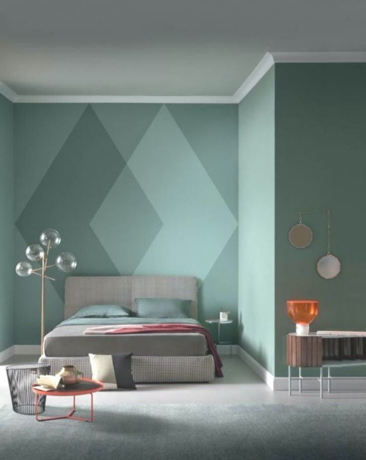 An Exciting Modern Master Bedroom With Clean Lines And A Touch Of