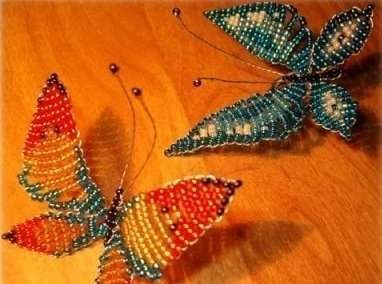 How to DIY Beautiful Beaded Butterflies | iCreativeIdeas.com Like Us on Facebook ==> https://www.facebook.com/icreativeideas