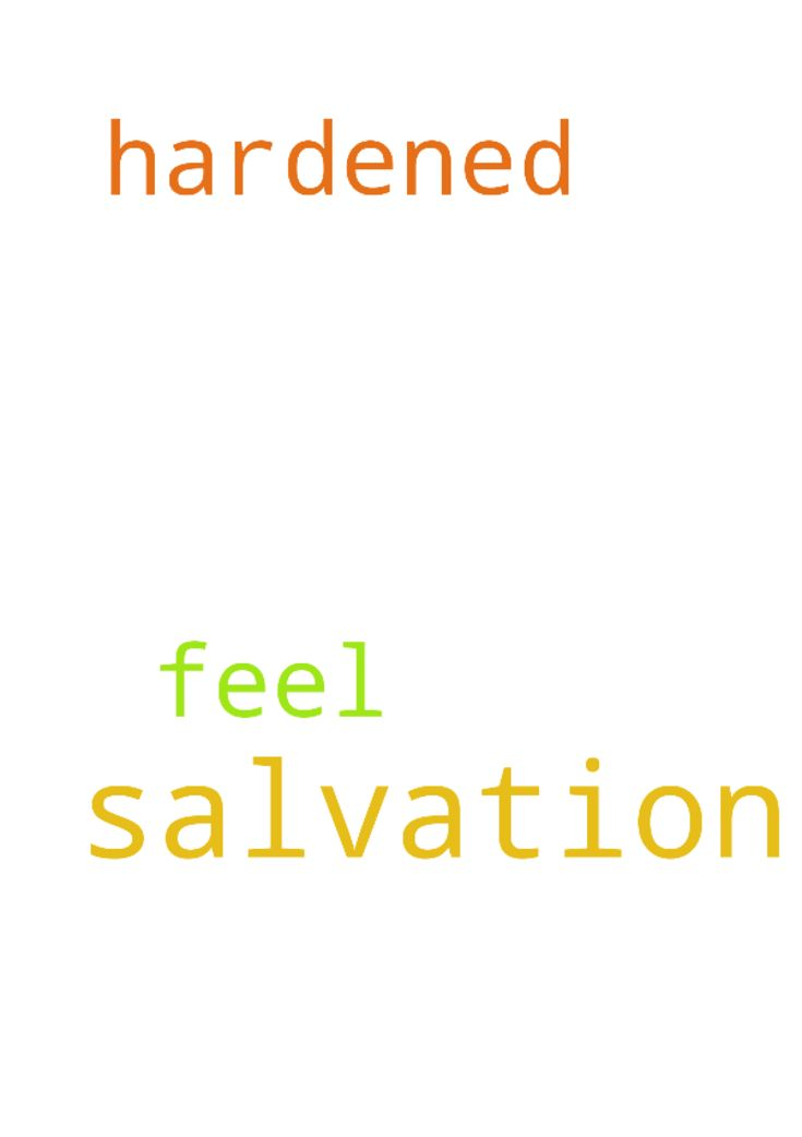 Salvation -  Please pray for my salvation i feel hardened  Posted at: https://prayerrequest.com/t/uTN #pray #prayer #request #prayerrequest