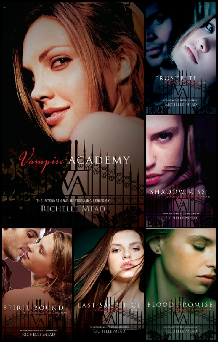 Vampire Academy Series  Richelle Mead Closest Thing To Buffy In A Book!
