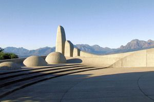 Afrikaans Language Monument in Paarl South Africa