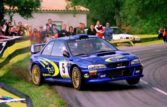 Subaru Impreza WRC rally car                                                                                                                                                      More