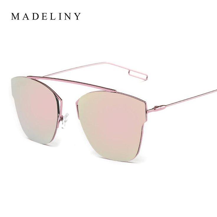 Newest Fashion Alloy Frame Classic Cat Eye Sunglasses Women Brand Designer Vintage Sun Glasses Men Reflective Oculos MA320  #ootd #cool #fashion #style #instafashion #swag #love #glam #dress #instalike