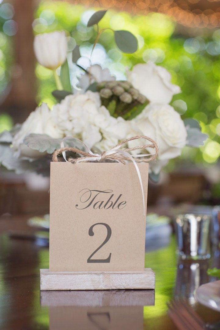 Featured Photographer Vitalic Photo Wedding Reception Table Number Idea