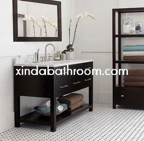 Xinda Bathroom Cabinet Co.,LTD Provide The Reliable Quality Bathroom Vanity  With Tops And