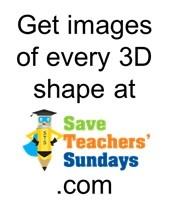 34 best 3D Shapes / 3-D shapes images on Pinterest | Teaching ...