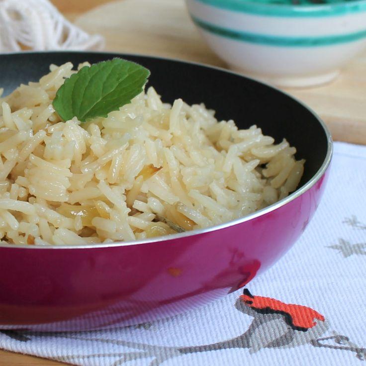 CUOCERE IL RISO PILAF IN PADELLA ricetta cottura riso senza forno