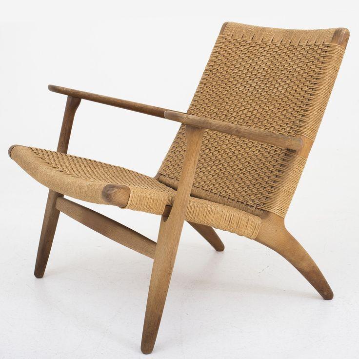 CH 25 - Easy chair in oak
