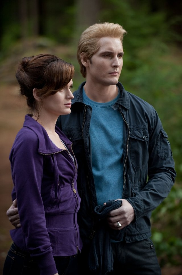 Still of Peter Facinelli, Elizabeth Reaser and Booboo Stewart in The Twilight Saga: Eclipse