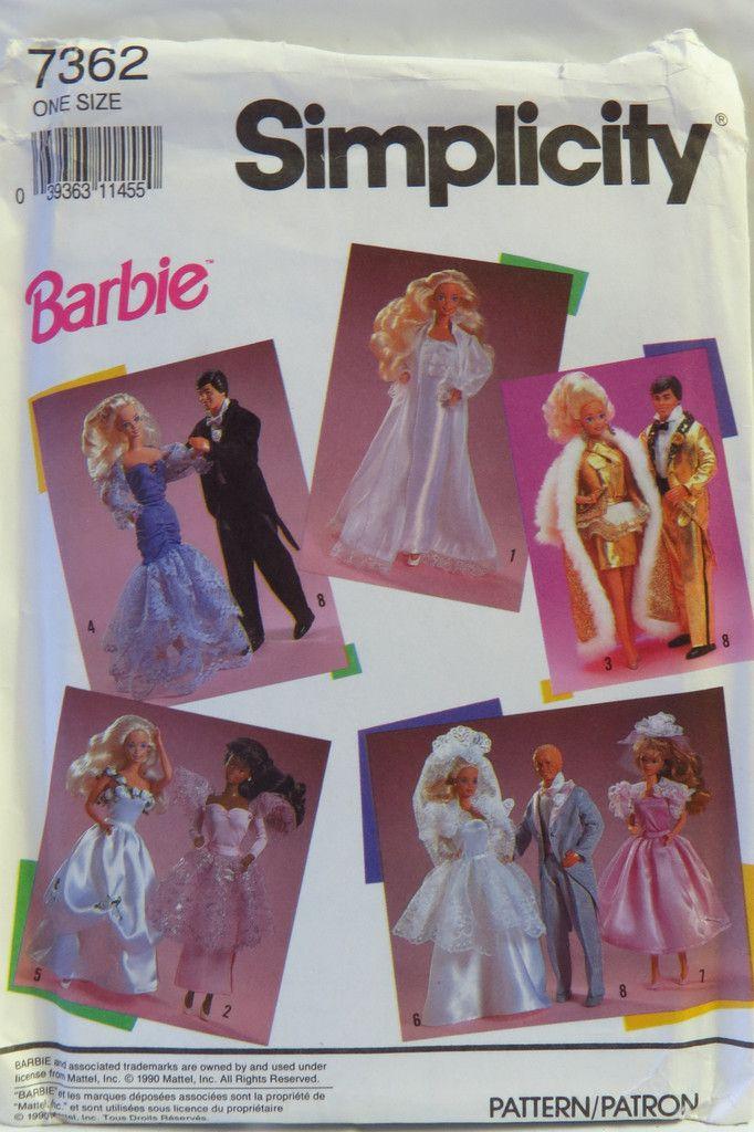 23 besten Barbie Bilder auf Pinterest | Modepuppen, Puppenkleider ...