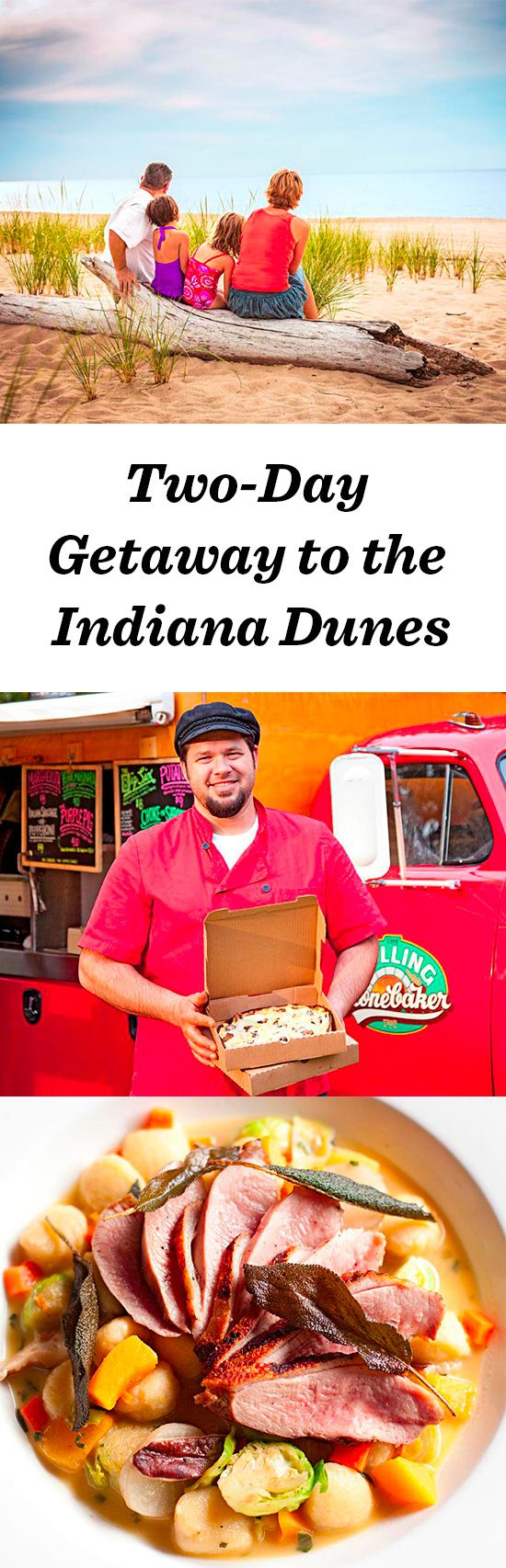 Enjoy 15 miles of Lake Michigan coastline at the Indiana Dunes, one hour southeast of Chicago: http://www.midwestliving.com/travel/indiana/indiana-dunes/two–day-getaway-to-indiana-dunes/ #indiana #indianadunes #vacation