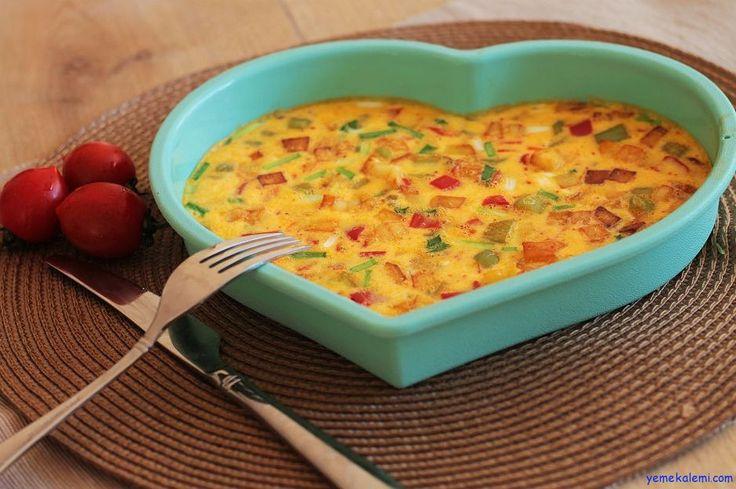 Pratik Yemek: Fırında Omlet ---- http://www.yemekalemi.com/pratik-yemek-firinda-omlet.html