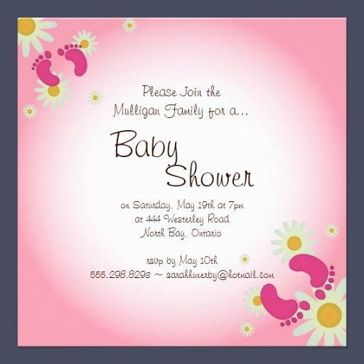 The  Best Baby Shower Invitation Message Ideas On