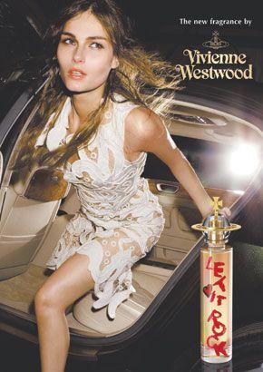 Tatyana Usova for Vivienne Westwood's 'Let it Rock' perfume.