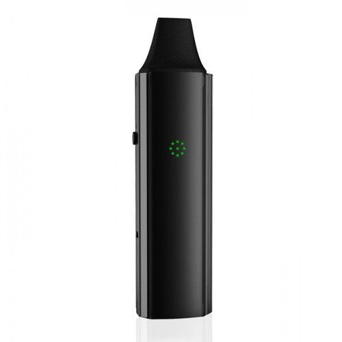 VaporFi Atom™ Dry Herb Vaporizer - What''s Included:1 VaporFi Atom™ Dry Herb Vaporizer1 Straight Mouthpiece (Pre-Installed)1 Oven Door (Pre-Installed)1 Replacement Screen2 Cleaning Pipes1 Packing Tool1 Micro USB Cable1 User ManualSpecs & FeaturesBattery Capacity: 3000mAHLED Temperature IndicatorTemperature Range: 360°F-464°FOutput Voltage: 3.3-4.2VOutput Wattage: 15 WattsMax Operating Current: 4ACircuit, Over Voltage and Overload ProtectionMotion Sensing TechnologySingle-Click…