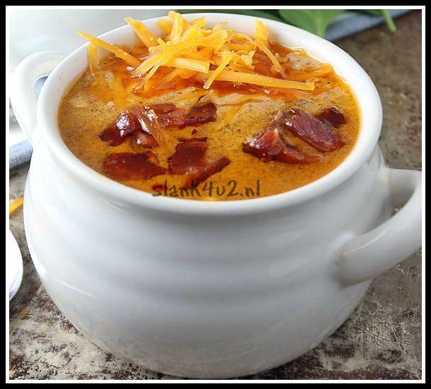 Bacon-kaas soep - Slank4u2