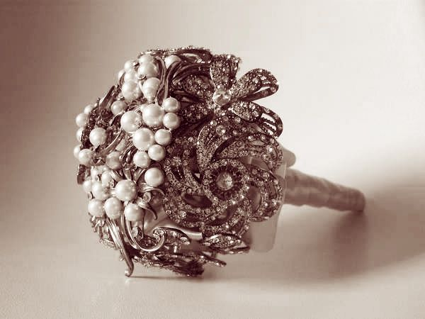 bouquet de broche