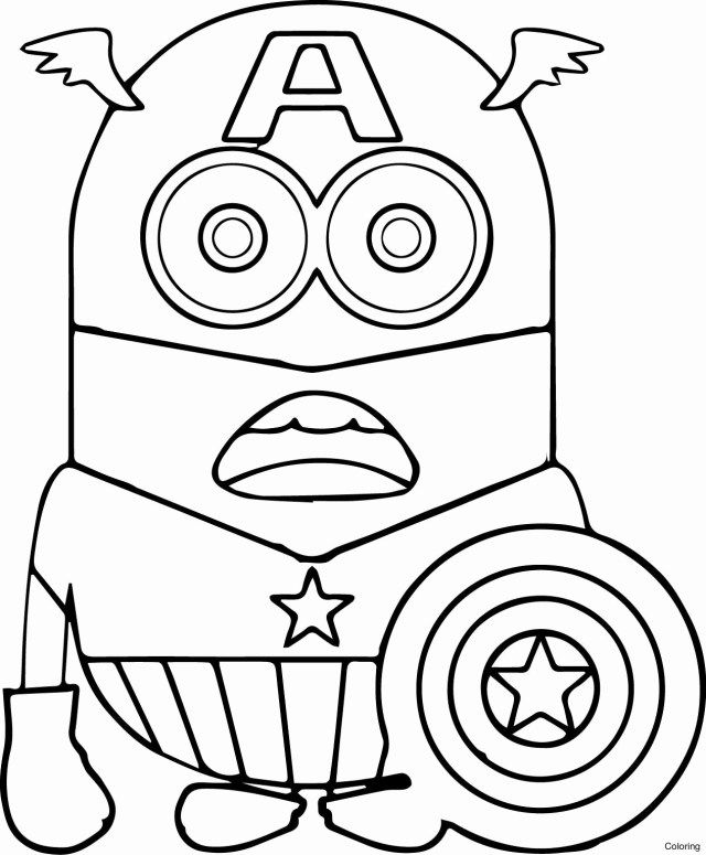 25 Pretty Photo Of Coloring Pages Minions Entitlementtrap Com Superhero Coloring Pages Minion Coloring Pages Avengers Coloring Pages