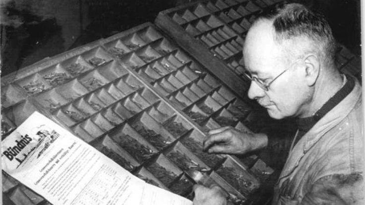 Typesetter, Schriftsetzer