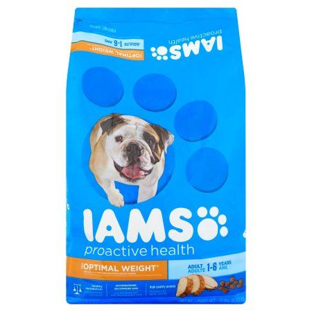 Iams ProActive Health Adult Weight Control Premium Dog Food 15 lbs, Multicolor