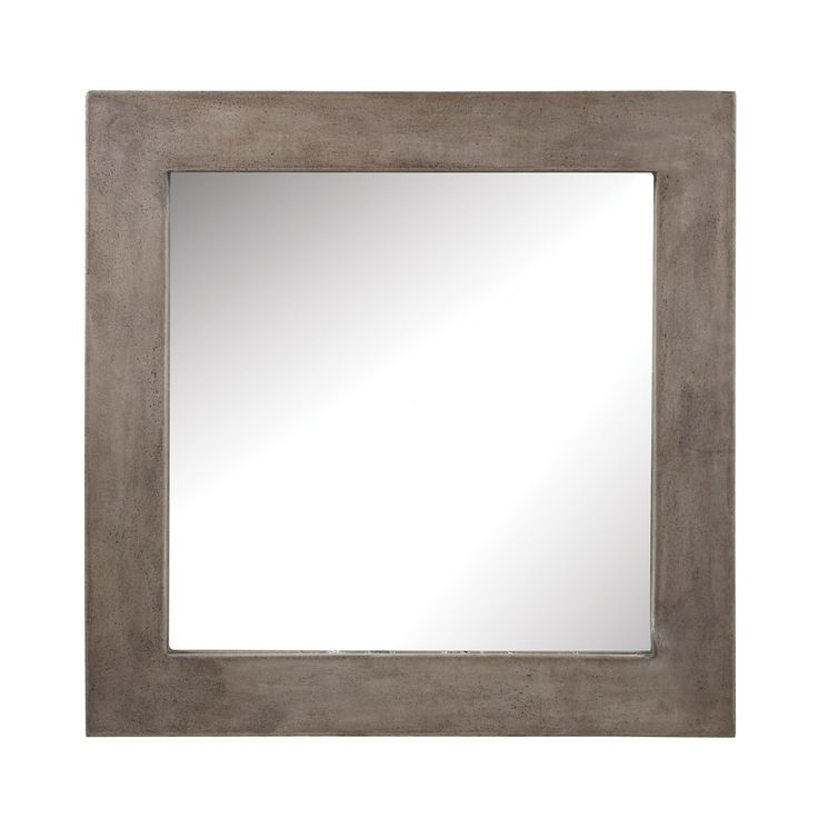 ELK LIGHTING Dimond Home Cubo Cement Mirror