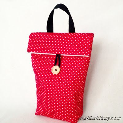 beslenme çantası nasıl dikilir, lunch bag tutorial, sewing bag tutorial