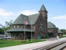 Historic train station Niles Michigan