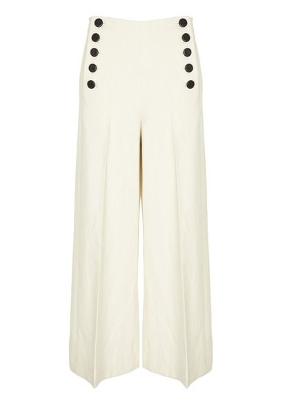 E Shop Pantalon Pont Blanc Tara Jarmon Pour Femme Sur