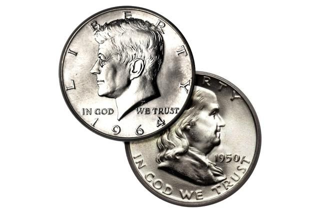 Coin Values and Prices - Coin Catalogs and Red Book Values and How Much Your Coins are Worth: U.S. Half Dollar Values & Prices