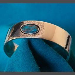 Bisbee Turquoise Bracelet Gerald Lomaventema